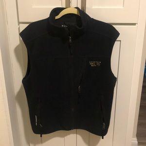 Men's Mountain Hardwear Zip Up Vest in Black